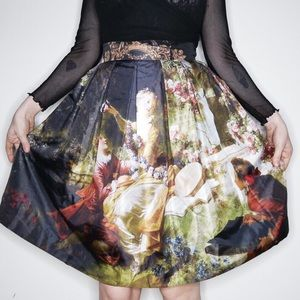Dresses & Skirts - Sold 💕 Juliette et Justine Amour d'amants skirt